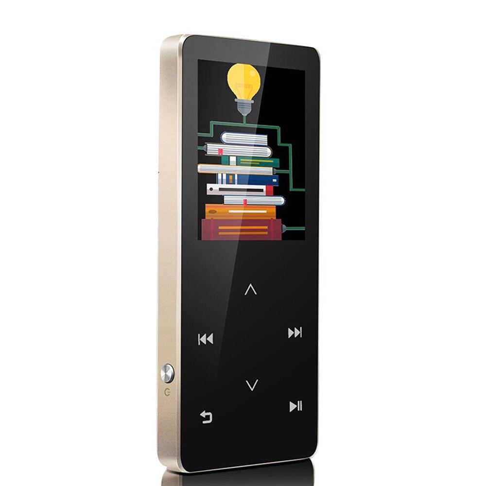 HIFI Lossless Bluetooth mp3 Player 8GB Touch Screen FM Radio Voice Recorder Video Player E book