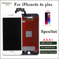 Moymax AAA 5PCS Lot Factory Promotion For Iphone 6s 6s Plus Screen Replacment No Dead Pixel
