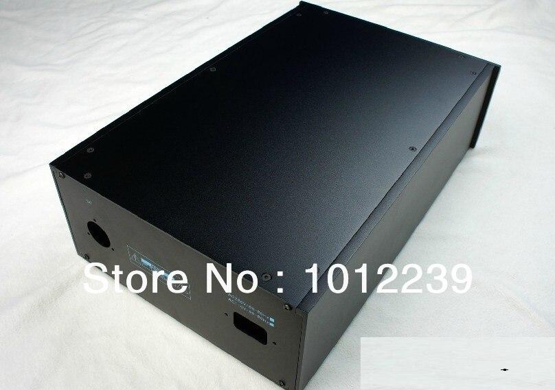 GA9P chasis de aluminio puro/home audio amp chasis/amplificador de potencia caso