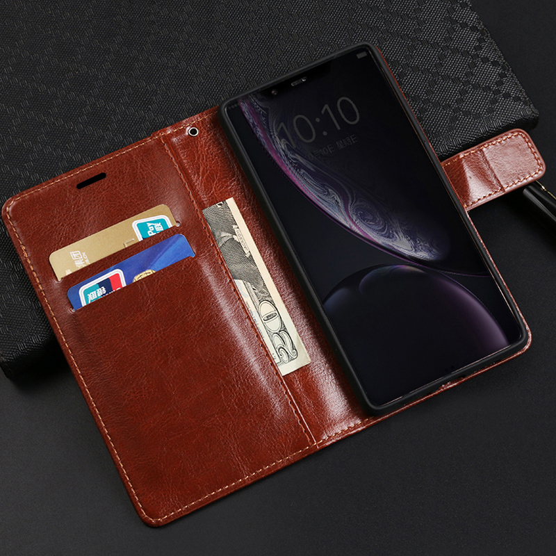 Fundas for Meizu M M2 M3 M5 M6 Note Metal M3E M3S M3X M5C M5S M6S M6T PU Leather Flip Cover with Card Slots Magnetic Stand Case in Flip Cases from Cellphones Telecommunications