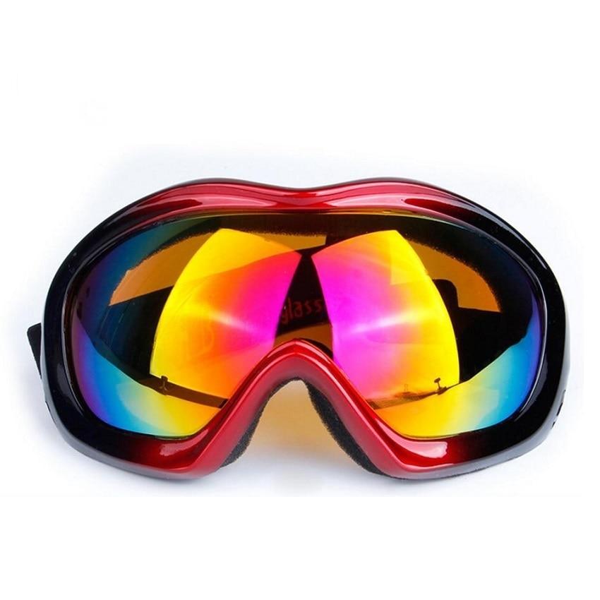 Windproof Ski Goggles For Snowboard Motorcycle UV400 COOL Dustproof Skiing Glasses Googles Men Women Anti-fog Winter Sunglasses