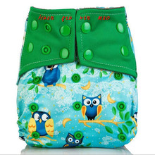 Baby nappy BAMBOO COAL Washable Cloth Diapers Wash Pocket Diaper Reusable Cover