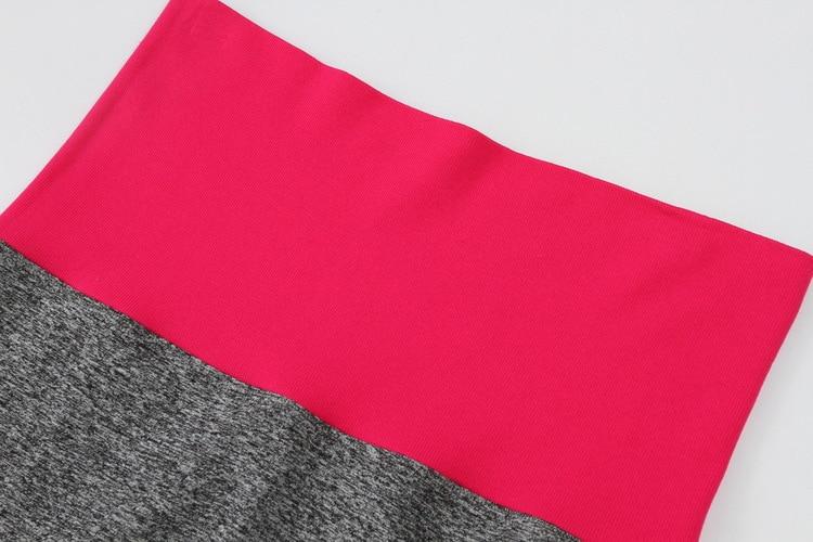 Sport anzug für weibliche yoga elastische gym hosen kraftübung - Sportbekleidung und Accessoires - Foto 2