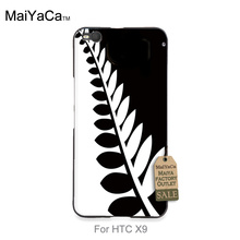 Hot selling fashion design skin thin pc cell For HTC One x9 case New Zealand All Blacks Rugby Tree Leaf