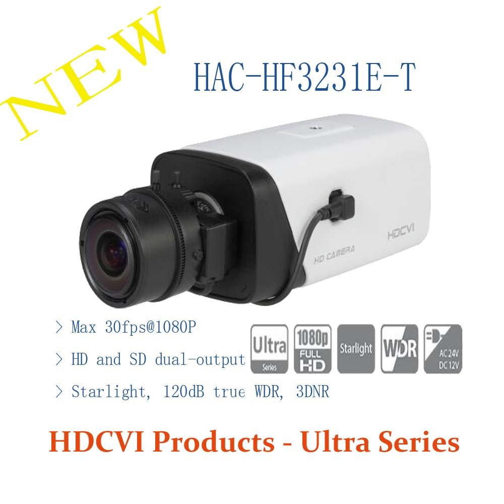 DAHUA CCTV Security Camera 2MP FULL HD Starlight HDCVI Box Camera Without Logo HAC HF3231E T
