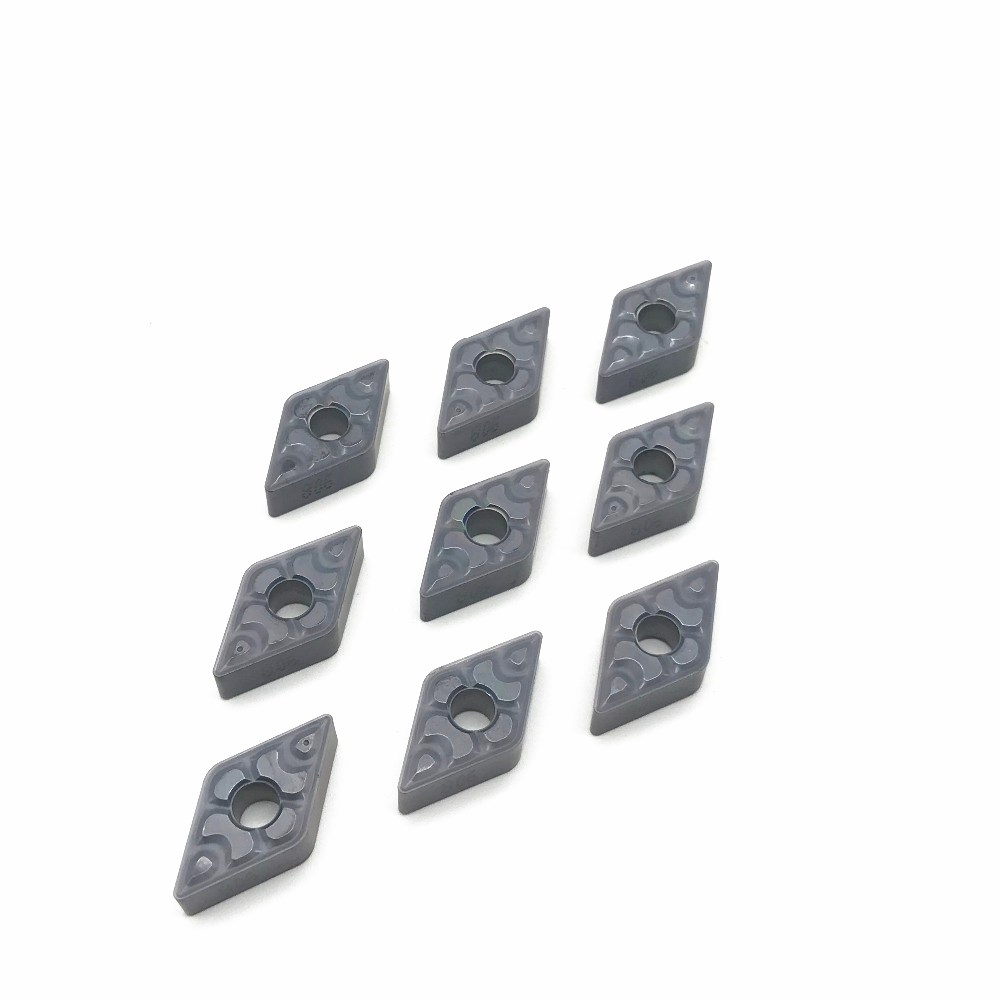 10PCS Carbide Insert DNMG150608 TF IC907 908 Metal Lathe Tool DNMG150608 CNC Machine Tool Part Milling Cutter Blade Lathe Tools