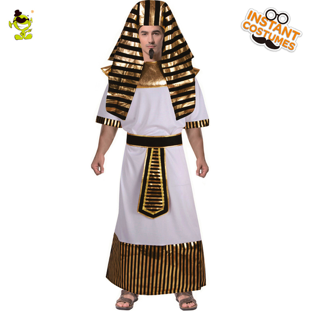 Men Egyptian Pharaoh Costume Male Priest Party Egypt Cleopatra Cospaly Costumes
