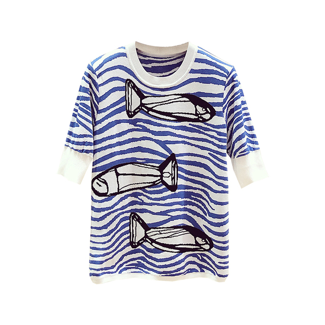 Summer Wave Striped Small...