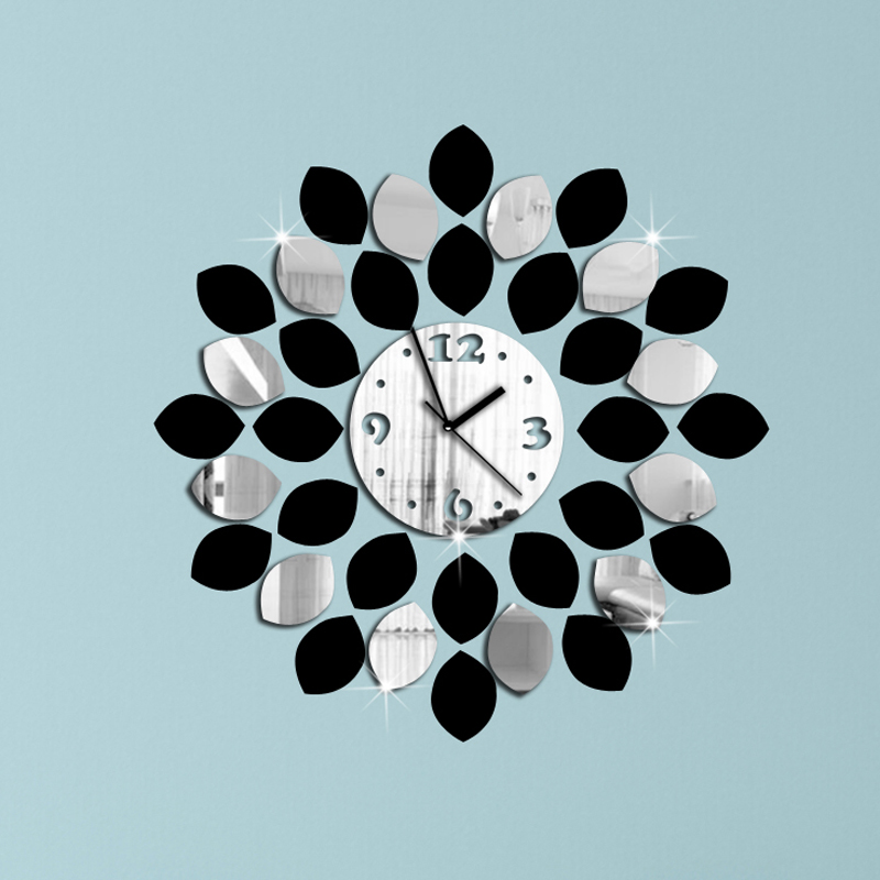 Wall Clock Modern Design Luxury