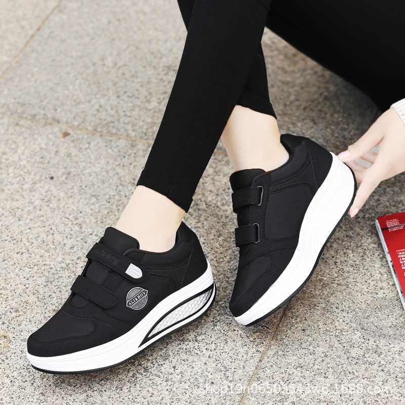 Toning Shoes Shake Slimming Women Spring for Female Body-Shaping 4-Colors Mujer