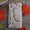 Luxo estojo de couro genuíno cobra anaconda python para apple iphone 6 6 S 4.7/6 Plus 6 s Plus 5.5 Caixa Do Telefone Tampa Traseira JS0172