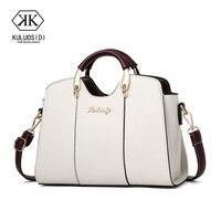 Брендовая модная женская сумка, женская кожаная сумка, винтажная сумка-мессенджер, сумка на плечо с надписью, женская сумка