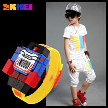 SKMEI Kids Watches LED Digital Children Cartoon Sports Watches