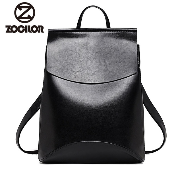 Fashion Women Backpack High Quality Youth Leather Backpacks for Teenage Girls  Female School Shoulder Bag Bagpack mochila 54e097d628