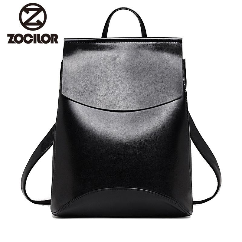 Fashion Women Backpack High Quality Youth Leather Backpacks for Teenage Girls Female School font b Shoulder