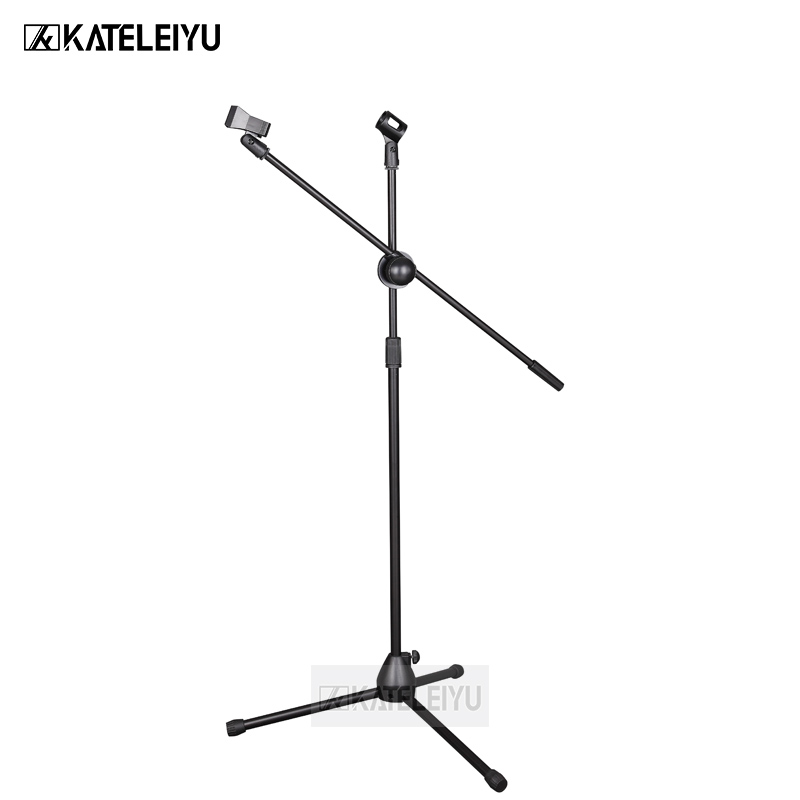 NB-200 Professional swing boom floor stand microphone holder Flexible Stage Microphone Stand Tripod
