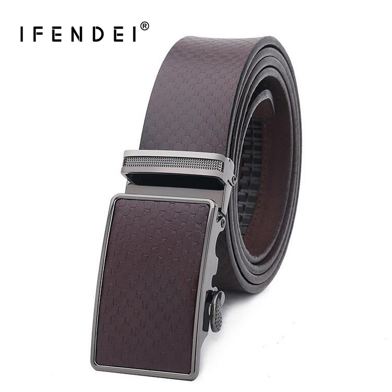 El Barco Casual Leather Men Belt Luxury Designer Cowhide Belt For Men Black Blue Brown Coffee High Quality Male Strap Pin Buckle Back To Search Resultsapparel Accessories