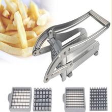 Лучшее значение нержавеющая сталь не использует домашний картофель слайсер Огуречная машина для резки картофеля фри