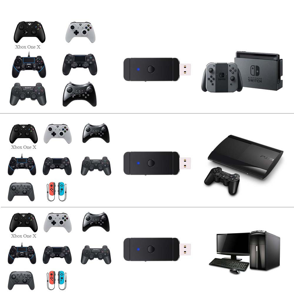 for ps3 ps4 xbox360 xbox one wiiu switch pro controller to. Black Bedroom Furniture Sets. Home Design Ideas