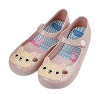 Belva Bé Gái Công Chúa Dép Mùi Ngọt Ngào Dễ Thương Thỏ Giày Thạch Toddler Kids Chống trượt Flats Mềm PVC Sandal