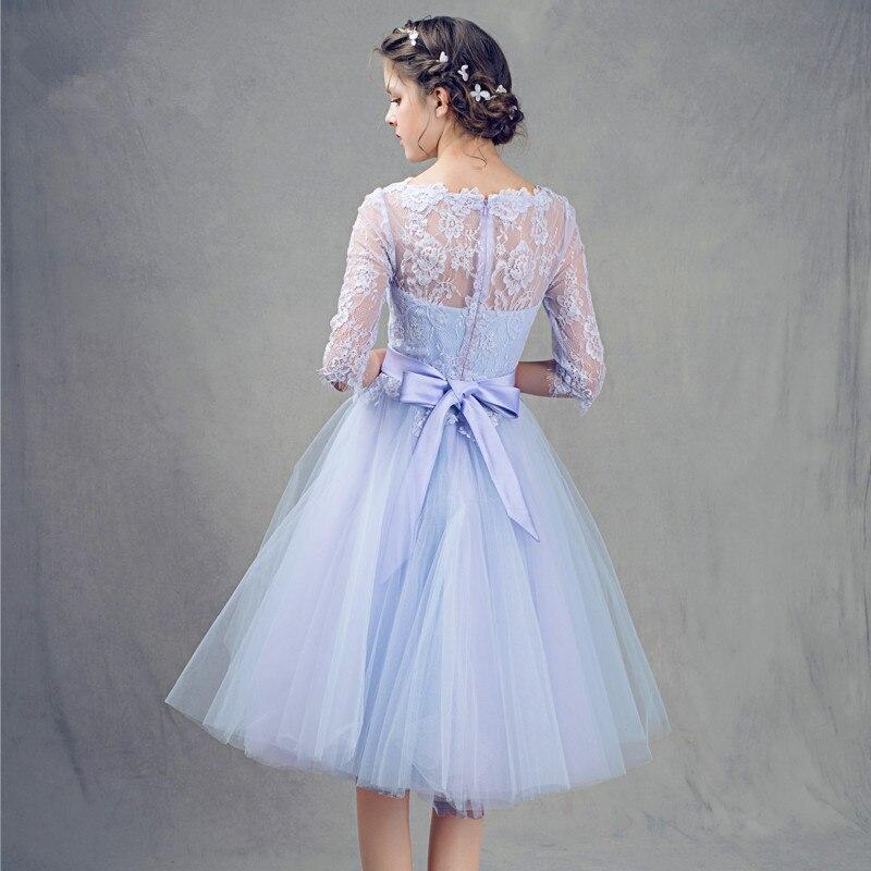 Ausgezeichnet Kurz Lang Hülse Prom Kleid Galerie - Brautkleider ...