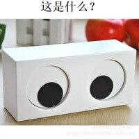 Clock EYE eyes clock Xinqite Wulitou small alarm clock Table Clocks