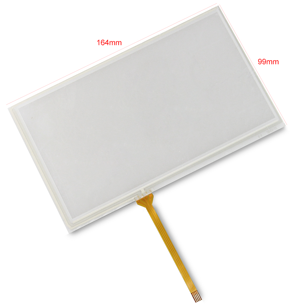 3pcs Tracking No. 7 inch Korg PA600 Touch Screen Glass Panel Digitizer For Korg PA-600 Free Shipping free tracking id 5 7 inch 135 105mm touch panel digitizer screen replacement for korg pa500 m50 tp 356751 5mm