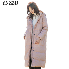 Thicken Jacket Long Pink