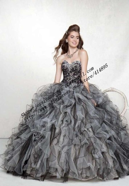59c301f8d8 Detachable Skirt Beading Purple Blue Black Ball Gown Quinceanera Dresses  100% Guarantee Satisfaction