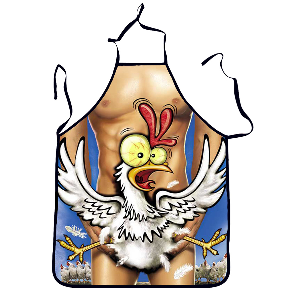 3D Polyester Funny <font><b>Apron</b></font> Home Cooking <font><b>Aprons</b></font> for Woman Christmas Gift <font><b>Sexy</b></font> Men <font><b>Apron</b></font> Colorful <font><b>Kitchen</b></font> Baking Cleaning Tools image