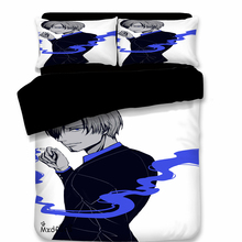 Japan Anime One Piece Duvet Cover Set Luffy Bedding Luxury Cotton Comforter Bed Include 1 and 2 Pillowcase
