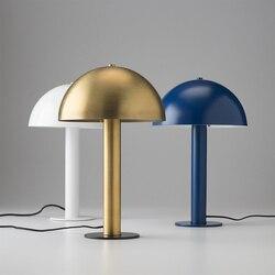 Nowoczesne złoty stół grzybowy u nas państwo lampy Nordic do sypialni lampka nocna żelaza doprowadziły stojak lampka na biurko oprawa badania domu w stylu Art Deco oprawy