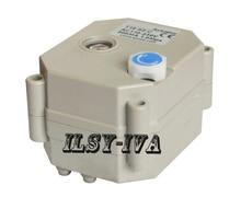 DC5V 2Nm многопроволочная Управления электроприводом с индикатором и ручного управления