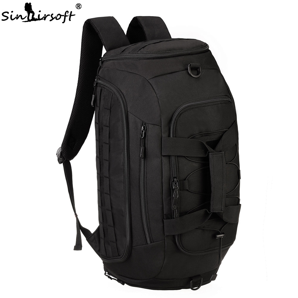 SINAIRSOFT 30L Military Tactical Backpack 800D Nylon Duffel Shoes Bag Molle System Fishing Camping Waterproof Rucksack LY2030 sinairsoft 14 inch laptop tactical molle military backpack 800d nylon sports bag camping hiking waterproof men travel backpack