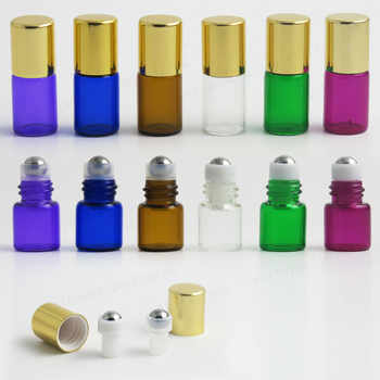 High Quality Travel Empty 1ml 2ml 3ml Color roll on roller bottles for essential oils roll-on refillable perfume bottle 500pcs - DISCOUNT ITEM  8% OFF All Category