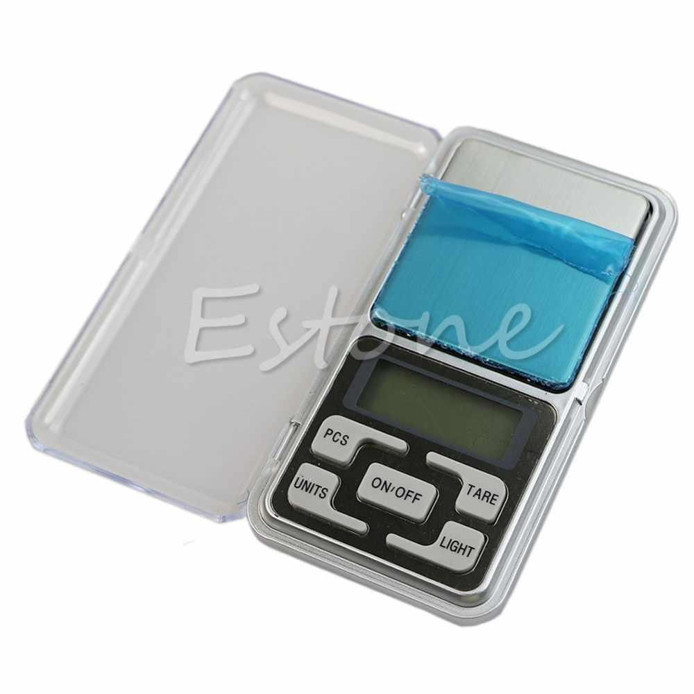 Лучше 1 шт. карман 500 г x 0,05 г Цифровой весы инструмент ювелирные изделия золото Баланс Вес грамм Новый