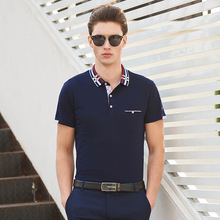 2017 Top New Regular Breathable Polo Raph Men Brand Summer Shirt Short Sleeve Cotton Solid Shirts Business Casual Plus Size