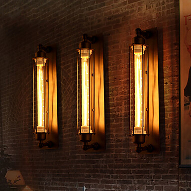 IWHD Retro Loft Style Edison Wall Lamp Industrial Vintage Bedside Light Metal Antique Wall Sconce Home Lighting Lampara Pared american loft style glass edison wall sconce industrial vintage wall light for bedside antique hemp rope lamp lampara pared