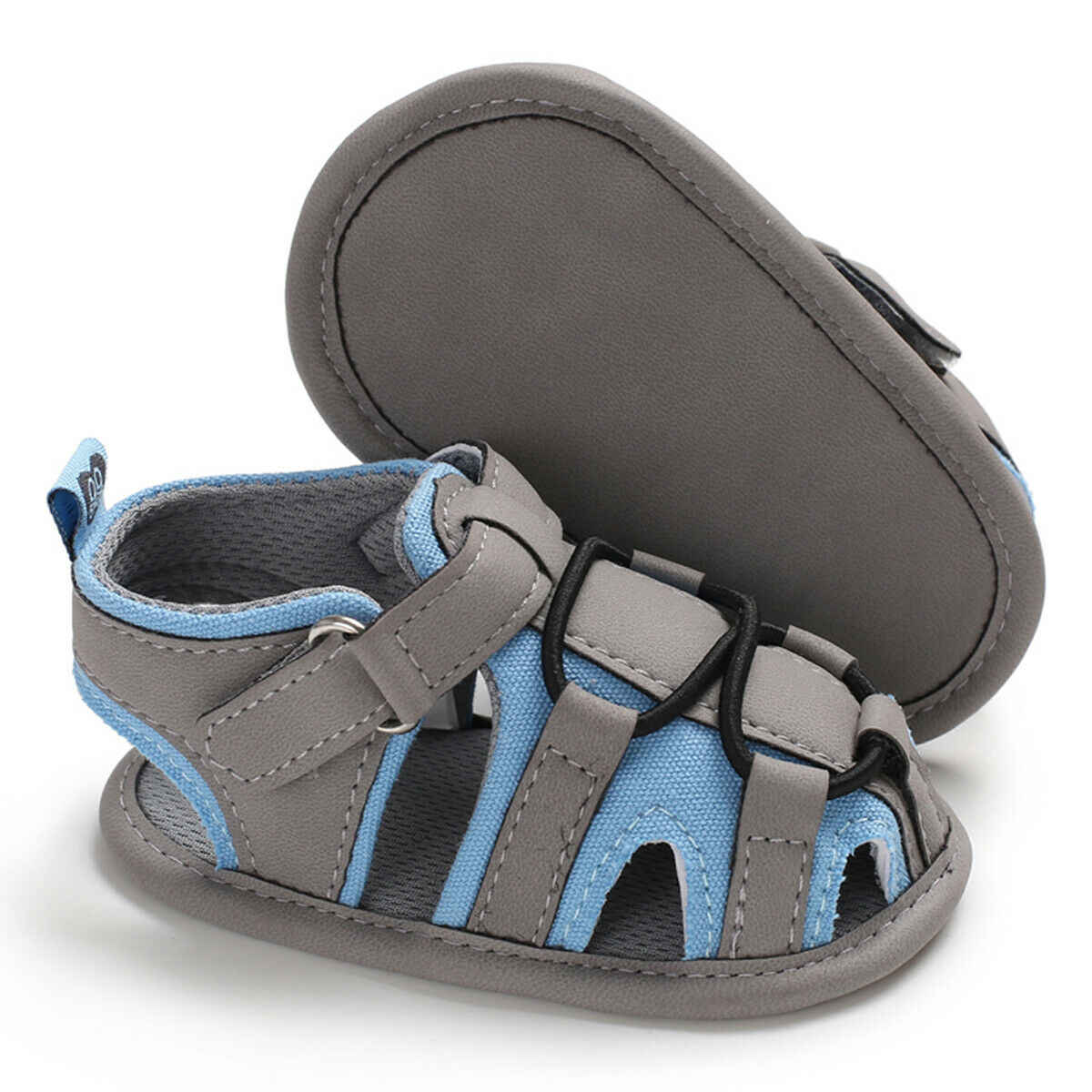 Zomer Baby Sandalen Mode Toevallige Zachte Crib Zool Leer Baby Meisjes Jongens Schoenen Pasgeboren Peuter Hollow Prewalker Sandalen