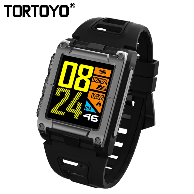 TORTOYO S929 GPS Sports Smart Band Blood Pressure IP68 Waterproof Swimming Watch Heart Rate Monitor Color Screen Sports Bracelet