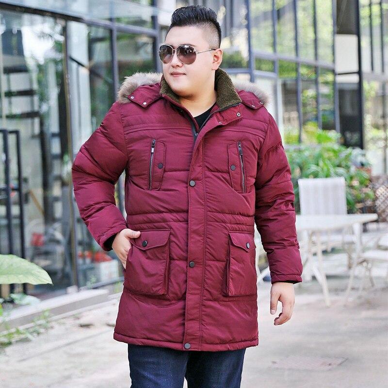 red Et Col D'hiver rouge Hhooded Épaisse Coton Fourrure Manteau Court De g Hommes Veste Couleur Taille Grande Noir Black Automne 2018 green TOpx17qw
