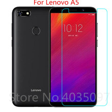 Tempered Glass For Lenovo A5 Screen Protector 2018 Protective Film
