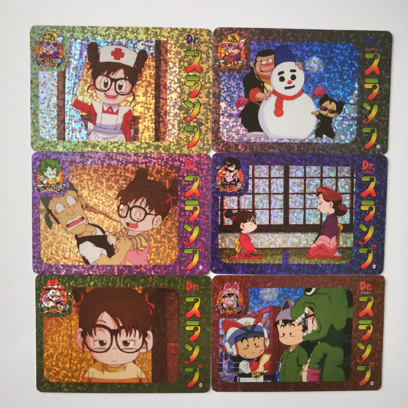 34pcs/set Arale Drama Card Season 2 Sets Heroes Battle Card Collection Anime Cards