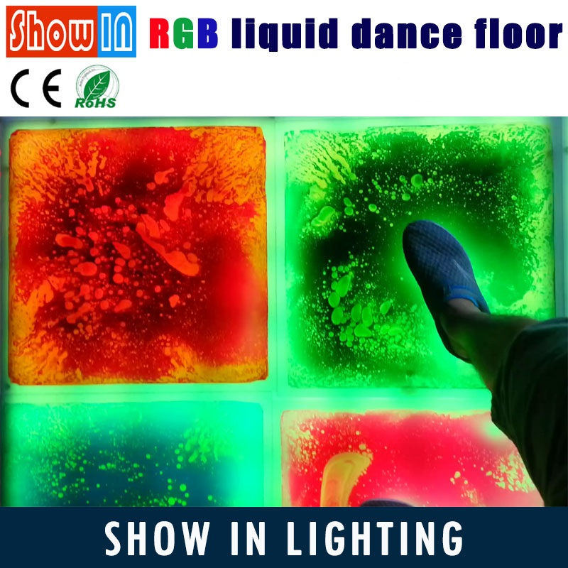 Flowing Liquid LED Lighted Dance Floor Sales Advanced Decoration Wedding Party Interactive Flooring SMD5050 Free Shipping free shipping european style parquet flooring marble floor relief 3d office decoration wallpaper bathroom mural