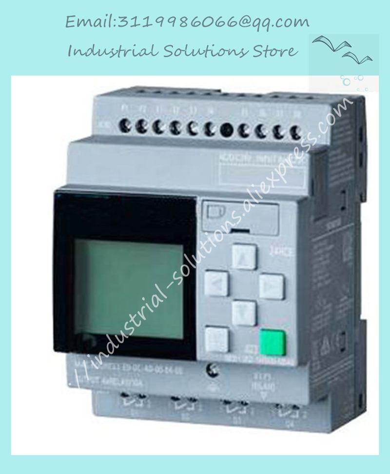 New Original 6ED1052-1MD08-0BA0 full replace 6ED1052-1MD00-0BA8 LOGO 12/24RCE PLC With Display Module 12/24V DC/RELAY 8 DI 4AI 6ed1052 1hb00 0ba8 6ed1 052 1hb00 0ba8 logo 8 24rceo plc 6ed1 052 1hb00 oba8 can replace 6ed1052 1hb00 0ba6 new module