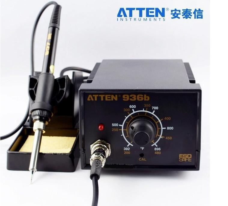 ATTEN soldering station AT936b upgrade version AT937 soldering iron constant temperature digital display lead-free small solderi 907 adjustable constant temperature lead free soldering iron
