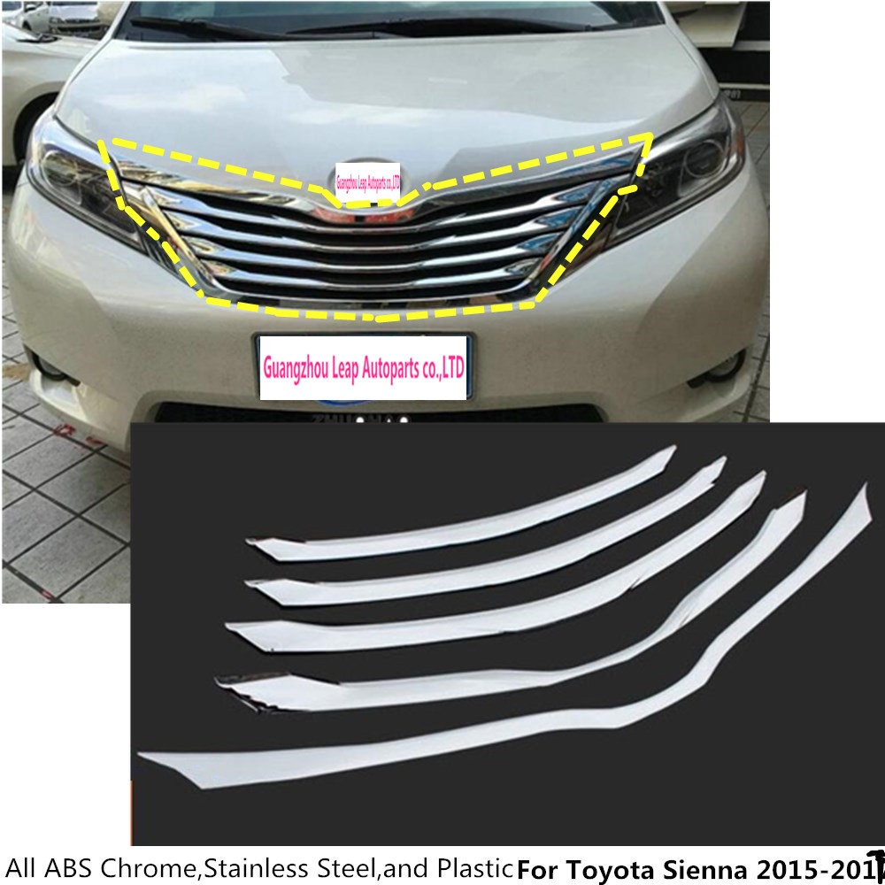 2016 Toyota Sienna Exterior: For Toyota Sienna 2015 2016 2017 Protection Detector Trims