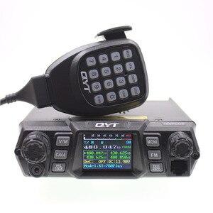 Портативная рация QYT, высокая мощность, УКВ, 136-174 МГц, 100 Вт/УВЧ, 400-470 МГц, 75 Вт