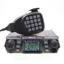 גבוהה כוח QYT KT 780Plus VHF 136 174MHz 100W / UHF 400 470mhz 75W רכב רדיו נייד משדר KT780 בתוספת ווקי טוקי