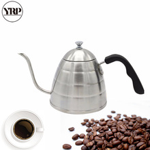 YRP900ML Stainless Steel Coffee Drip Kettle Handle Pour Over Tea Pot Gooseneck Led Spout Teapot For Barista kitchen Tools